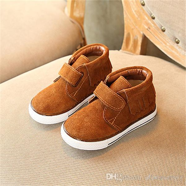 Genuine Leather Shoes Children Sneakers Sports Cheap Boy shoes,breathable kid shoes