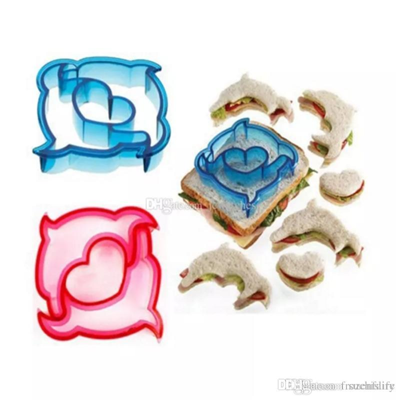 Dinosaur Dog Butterfly Shape Sandwich Bread Cutter Mold Cake Tools Cake Toast Moulds Maker Wholesale bb241-248 2018010906