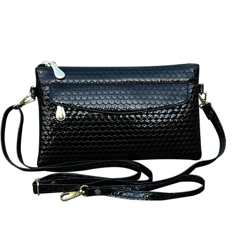 KANDRA Imitation Embossed Leather Every Day Clutches Women Crossbody Bag Removable Chain Strap Alligator Purse Mother's Day