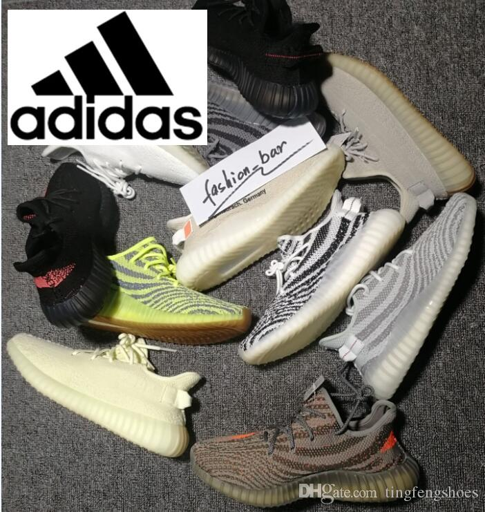 84ba98c30 ... Air Yeezy 350 Running Shoes 3m Reflective BELUGA 350s 2.0 Static Butter  Bred ZEBRA Yezzy Yeezys Yezzys Triple Clay Hyperspace True Form Sports  Sneakers ...