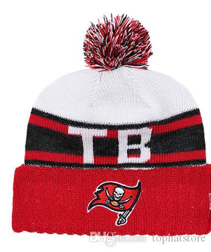 2019 Winter Brand Ball Cap Pom Poms Tampa Bay Buccaneers Skull Cap For Men  Women Adult S Hat Knitted Beanie Hats Thick Skullies Beanies From  Tophatstore 0afa861dfb6