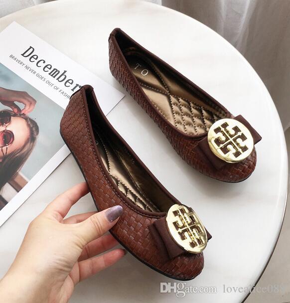 stati Uniti vendita usa online speciale per scarpa Moda Donna Scarpe Loafewrs Hot Nuove donne Sandali Flats Bottom Mocassini e  mocassini Donna Sandali piatti Ladies Tacchi alti all'ingrosso
