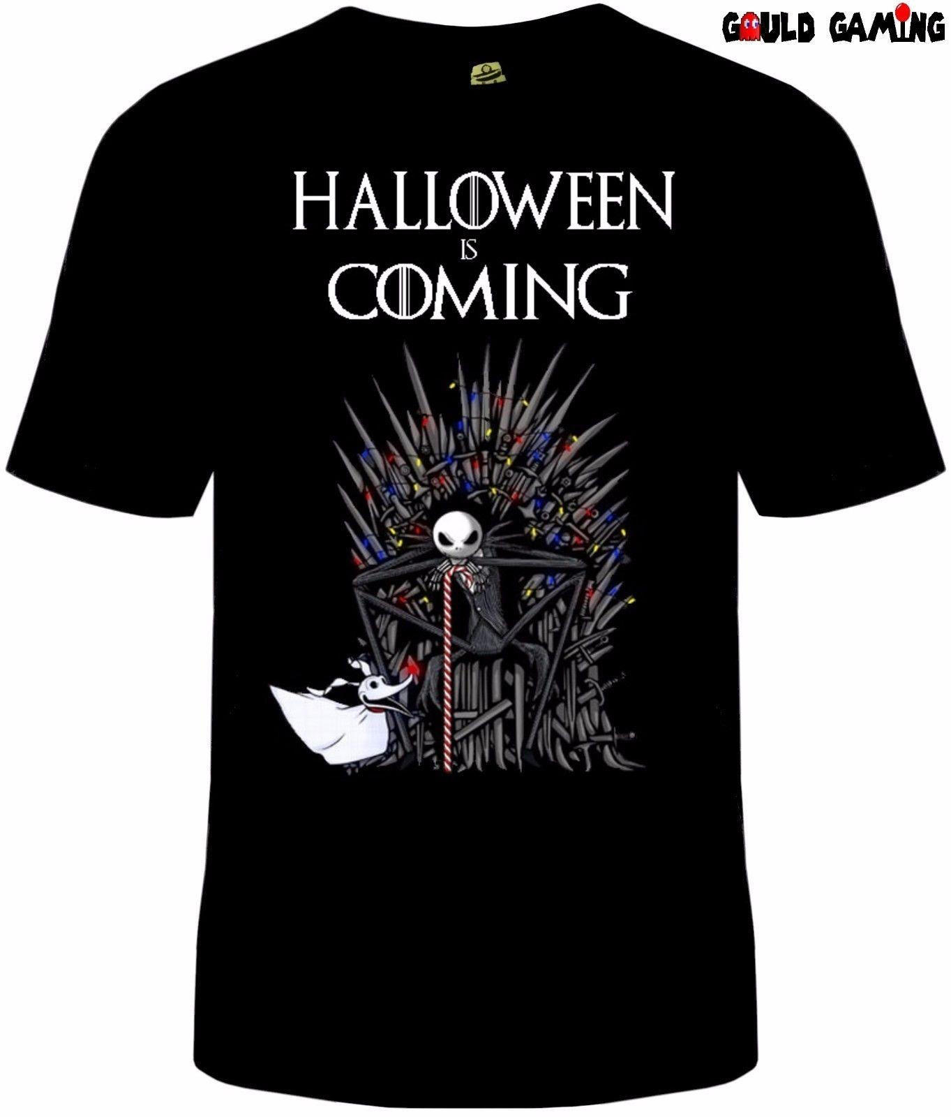 Game of Thrones Nightmare Avant Noël T-shirt Unisexe Coton Halloween Nouveau 2019 mode t-shirt De Style De Mode Hommes Tee