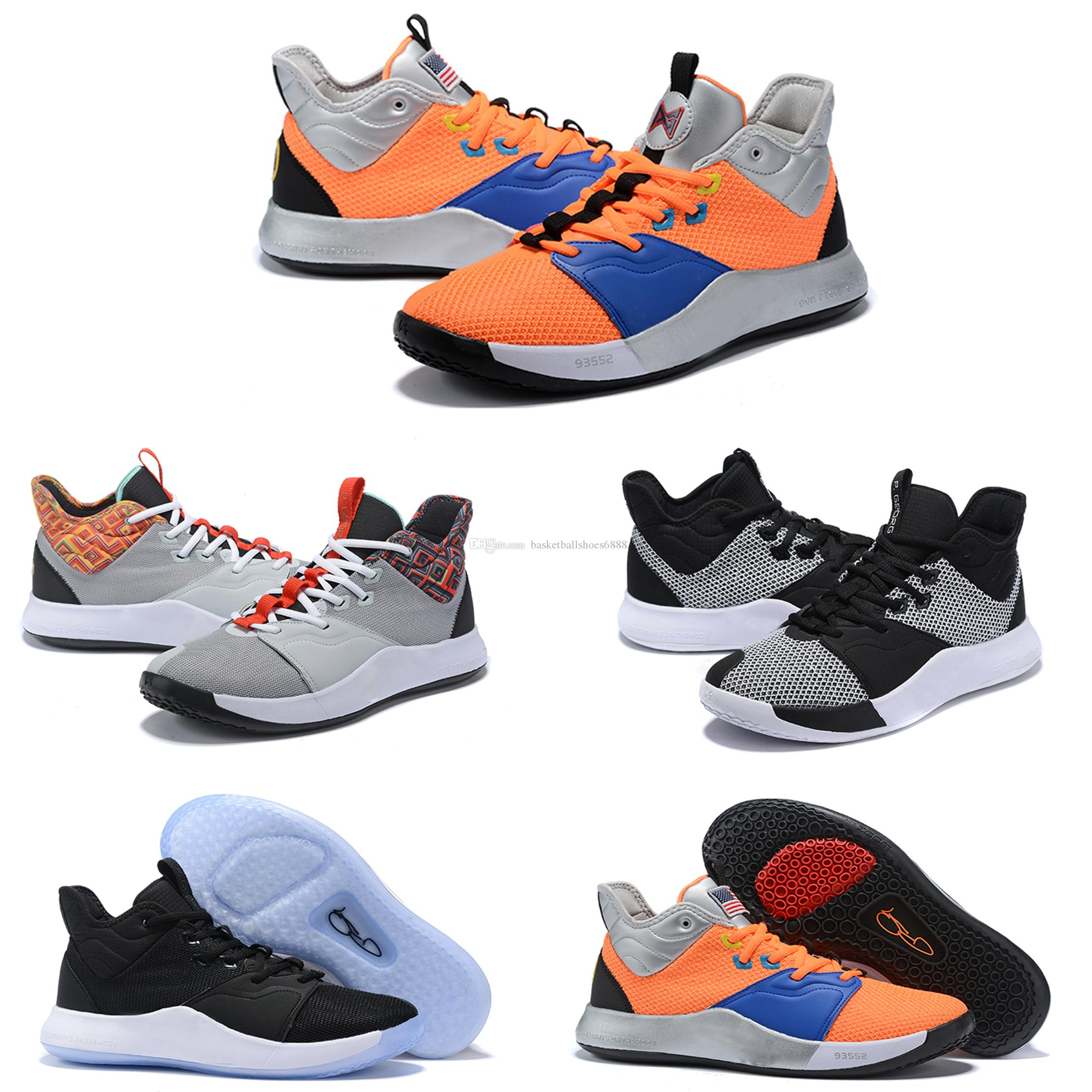 4feac974d 2019 2019 New Paul George PG 3 X EP Palmdale PlayStation Mens Basketball  Shoes USA Designer PG3 3s Casual Sneakers Size40 46 From  Basketballshoes6888, ...