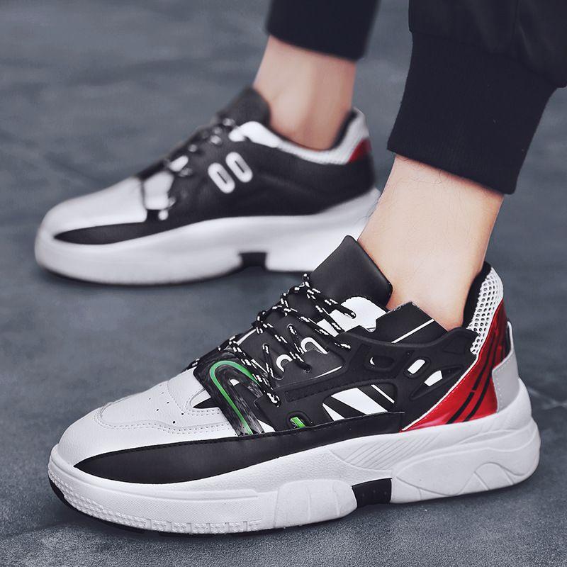 Cómodo Calzado Vintage Remiendo Chunky Sneakers Compre Moda Ins Men S7Yqxvwna8