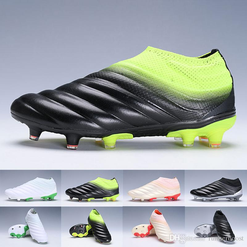 f65c7b692 2019 High Quality Mens Copa Mundial Leather FG Women Soccer Shoes 70Y World  Cup Football Boots Triple Black White Green Cleats Size 38 45 Canada 2019  From ...