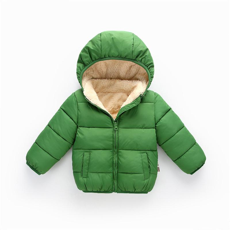 f3242f59e Kids Boys Girls Jacket Autumn Winter Wearcoats Baby Boys Girls Coat ...