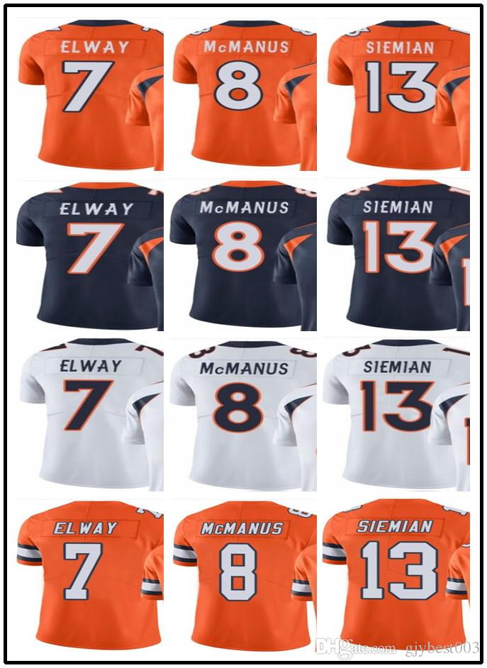 2019 2019 Can Custom Men Denver Broncos Jerseys  7 John Elway 8 ... 027c08de4