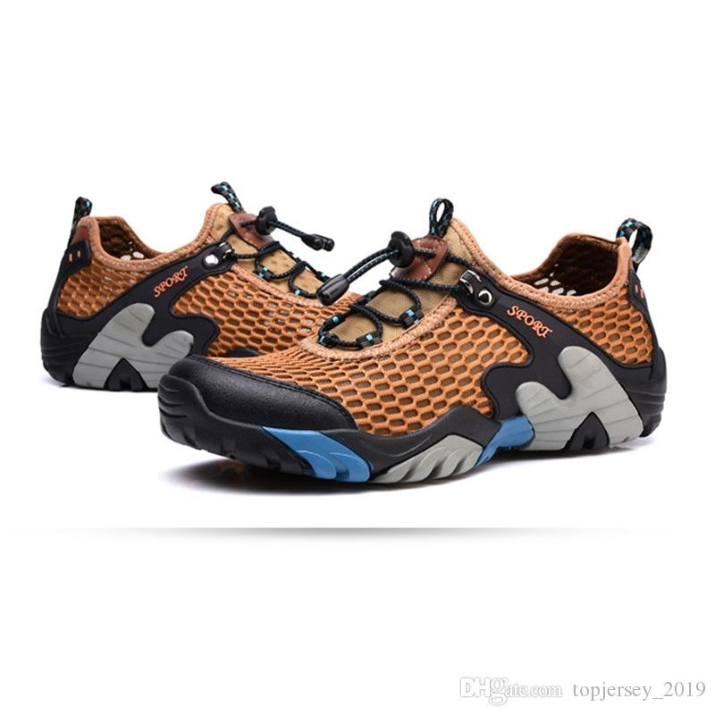 bb7fa748d95bdb 2018 New Male Hiking Shoes Breathable Hiking Men Shoes Climbing ...