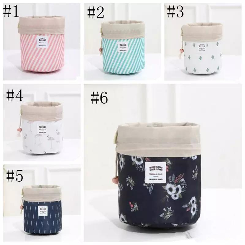 Home & Garden Travel Storage Folding Drawstring Square Storage Basket Big Capacity Toy Laundry Makeup Container Cosmetics Underwear Organizer Foldable Storage Bags