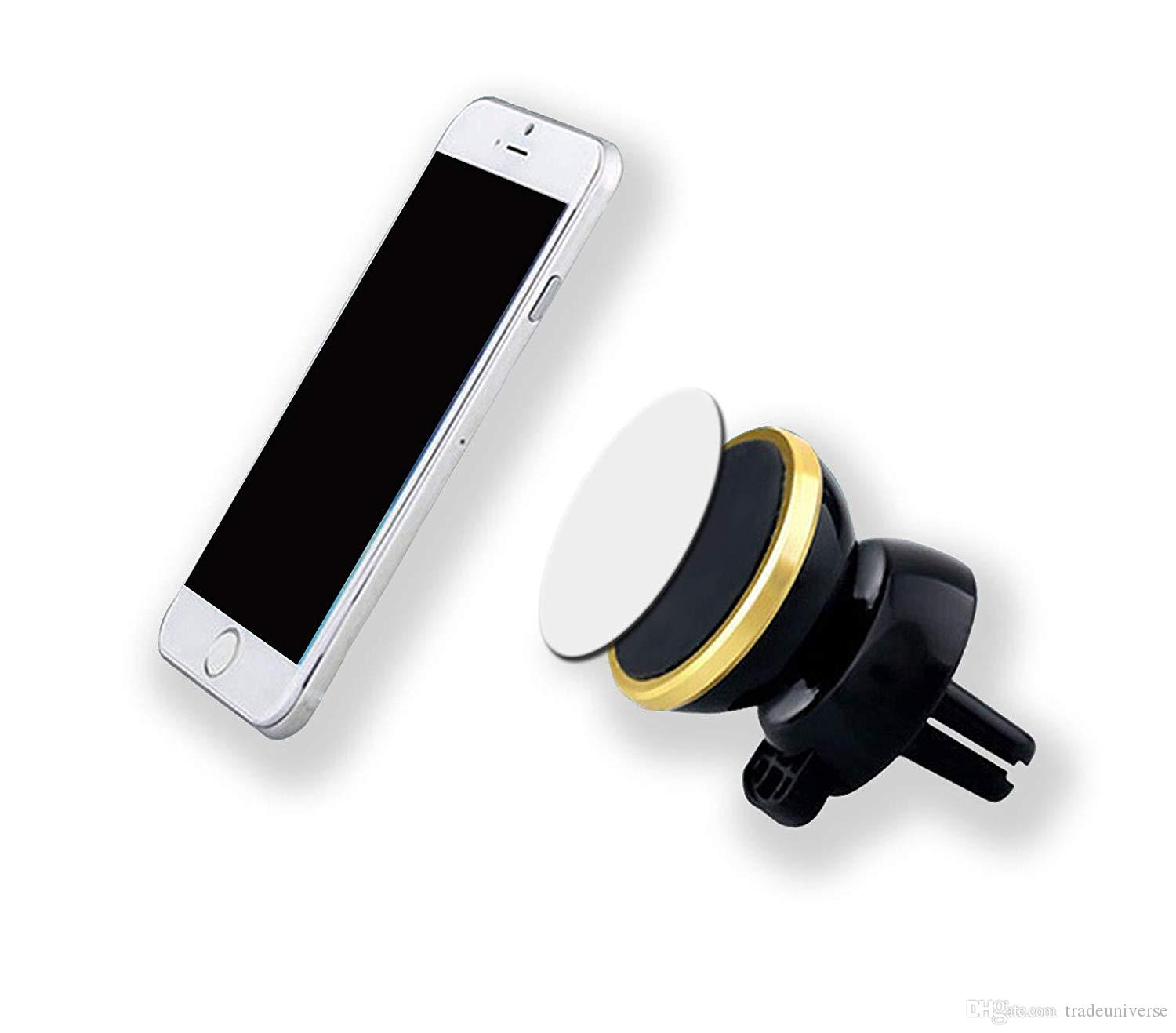Car Mount Air Vent Magnetic Car Holder for Phones GPS Air Vent Dashboard Car Mount Holder with Retail Box