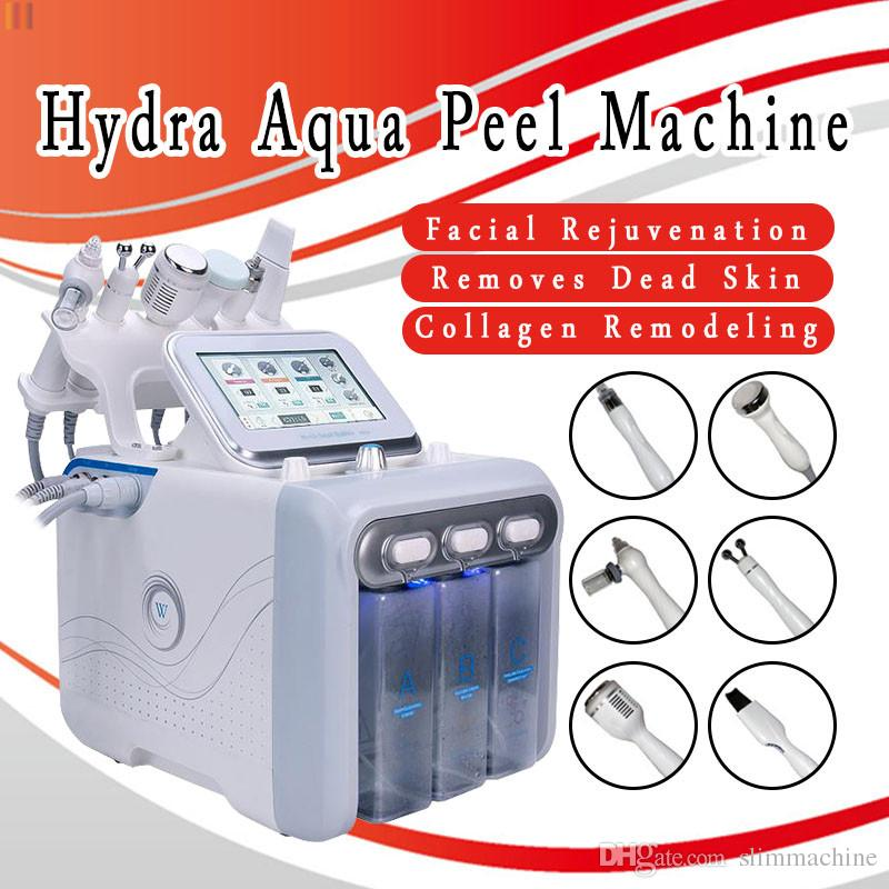 Hydra dermabrasion hydra facial machine Cryotherapy cold Therapy Acne  Treatment Ionic Blood Vessels Removal High Frequency Skin Rejuvenation