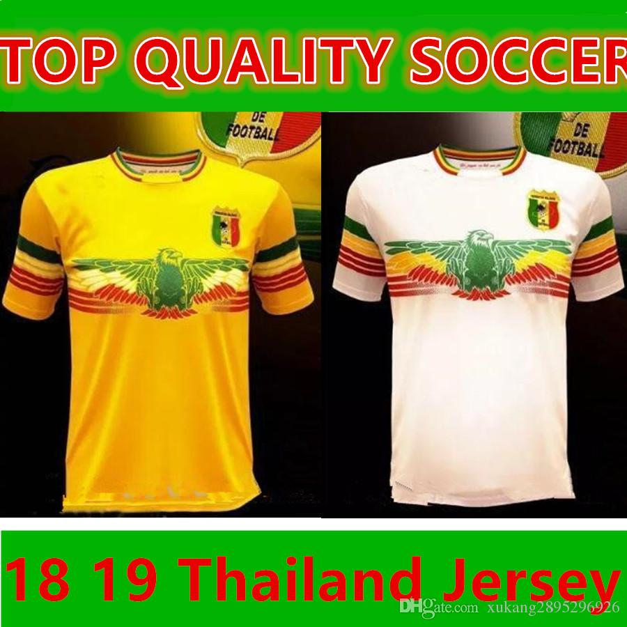 38b08f9b6dd 2019 2018 2019 Mali Home Away Soccer Jersey Concept Football Shirt Les  Aigles Du Mali Can 2017 Maillot Domicile From Xukang2895296926