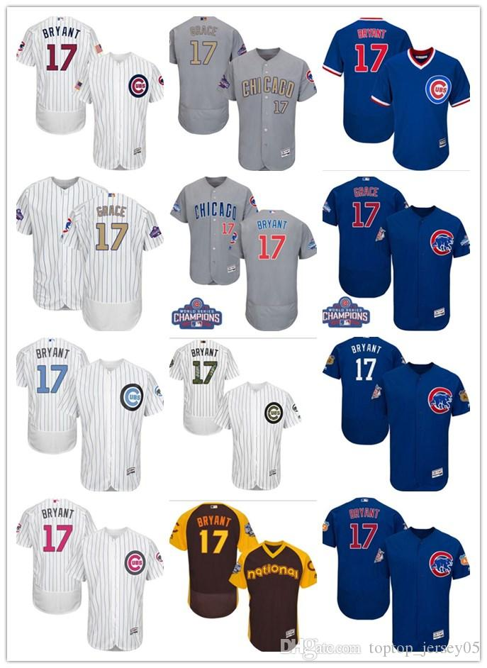 2019 2018 Can Chicago Cubs Jerseys  17 Kris Bryant Jerseys Men WOMEN YOUTH Men S  Baseball Jersey Majestic Stitched Professional Sportswear From ... b33130eb7c