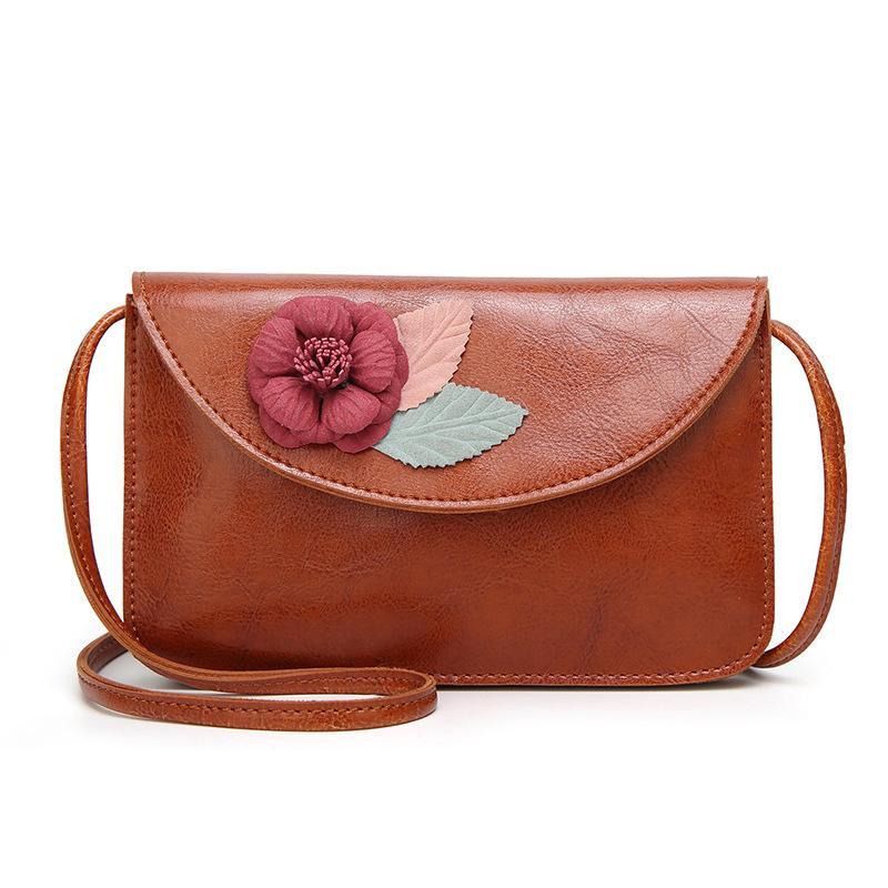 Good Quality Women Fashion Flowers Shoulder Bag Ladies Small Vintage Tote Bag  Purse Chain Handbag Messenger Clutch Bag Girls Purses On Sale Men Bags From  ... 514d9eb1f2aeb