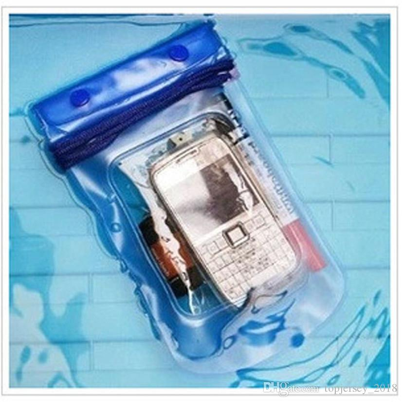 FishSunDay New Clear Waterproof Pouch Bag Dry Case Cover For All Cell Phone Camera Lightweight compact Drop shipping August11 #28906