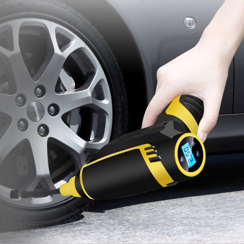 2019 Electric Air Pump Air Compressor Cordless Mini Tyre Inflator