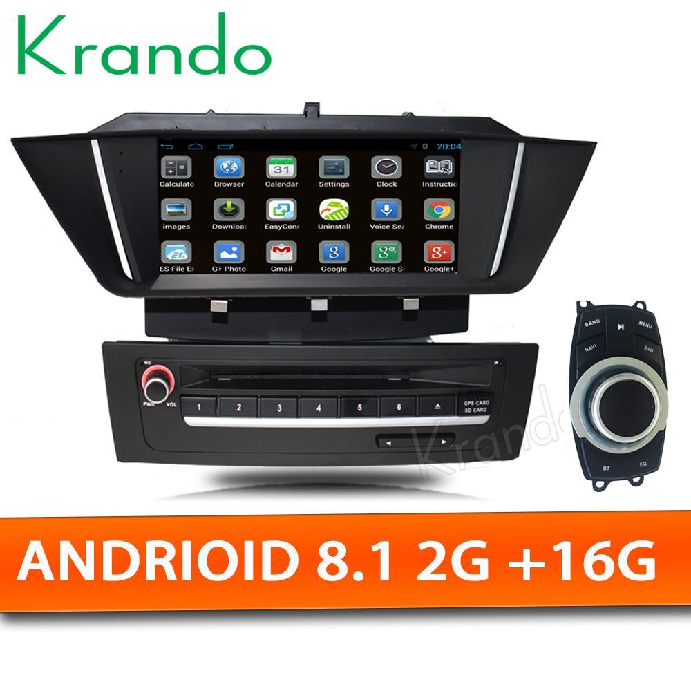 1e6b4e33f4fa Krando Android 8.1 7 Car DVD Radio Player GPS For BMW X1 E84 2009 2013  Radio Stereo Audio Navigation System WIFI Bluetooth Port Dvd Player  Portable Auto Dvd ...