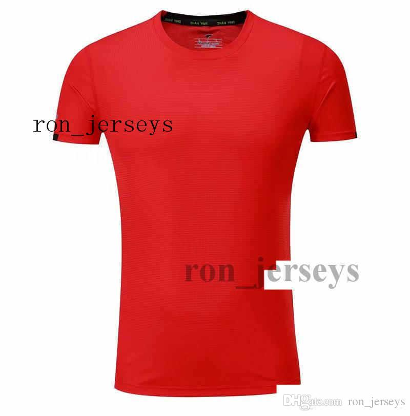 New Hot Sal Number Name fert h7u6 Can BE EL san- Customized T-shirt With Printed Soccer High Quality Quick Pattern Anti_Foul CM