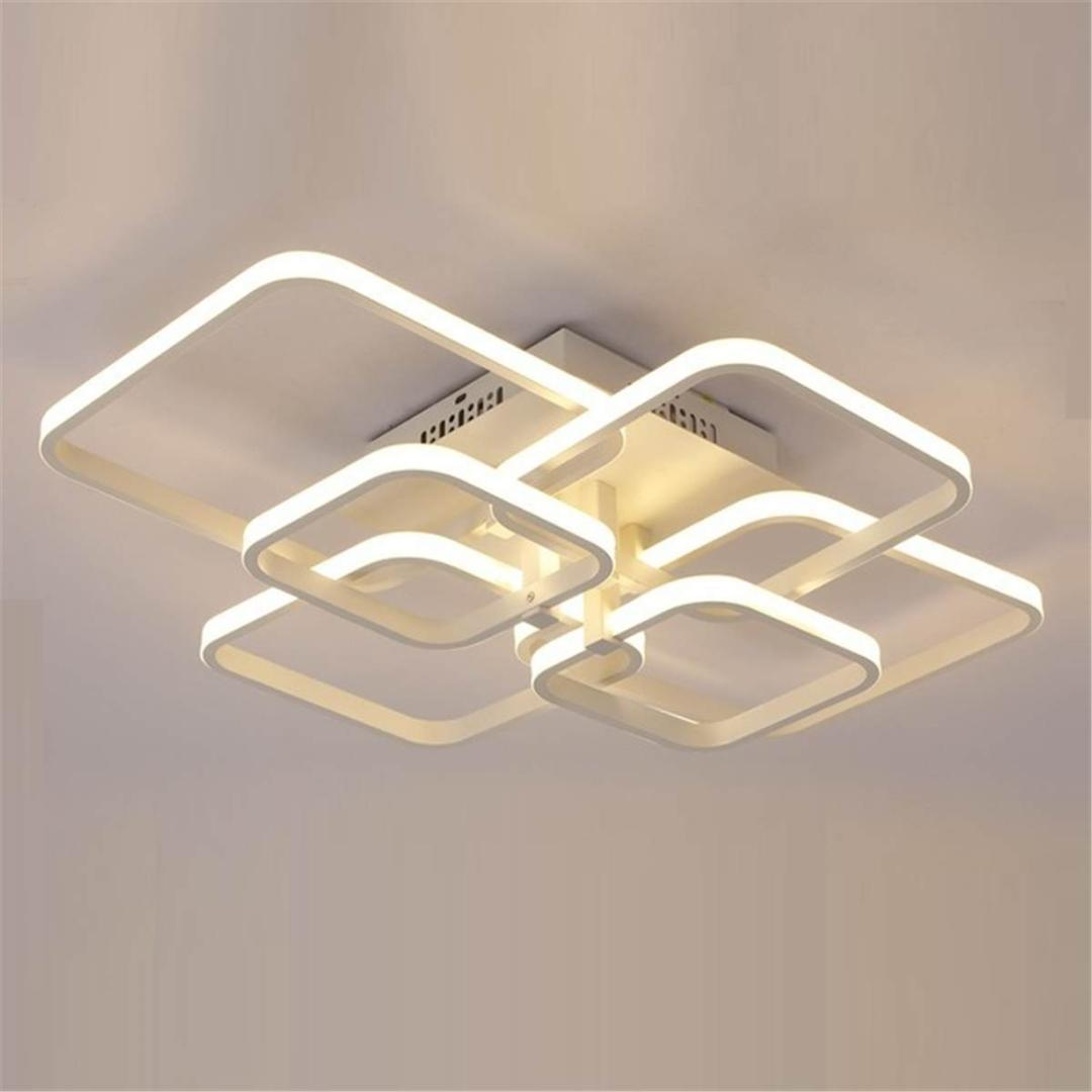 Ceiling Lights & Fans Fine New Acrylic Dimming Ceiling Lights For Living Studyroom Bedroom Home Dec Plafonnier Ac85-265v Modern Led Ceiling Lamp Home Decor Ceiling Lights