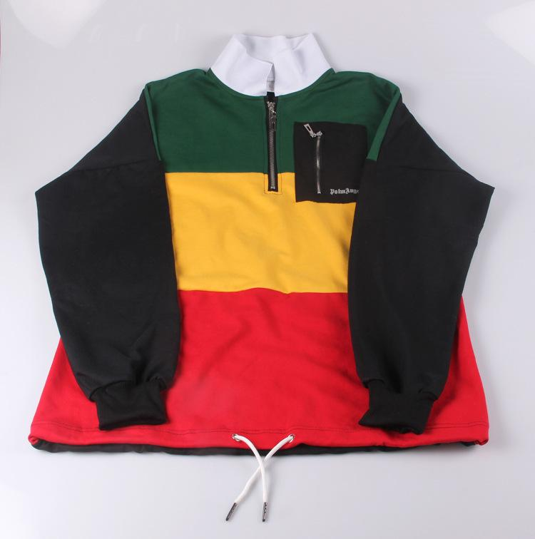 ae6d44b59 heap Hoodies & Sweatshirts New Kpop BTS Bangtan Boys JUNG KOOK the Same  Plus Cashmere Hoodie Splice Color Matching Sweatershirt Fall ...