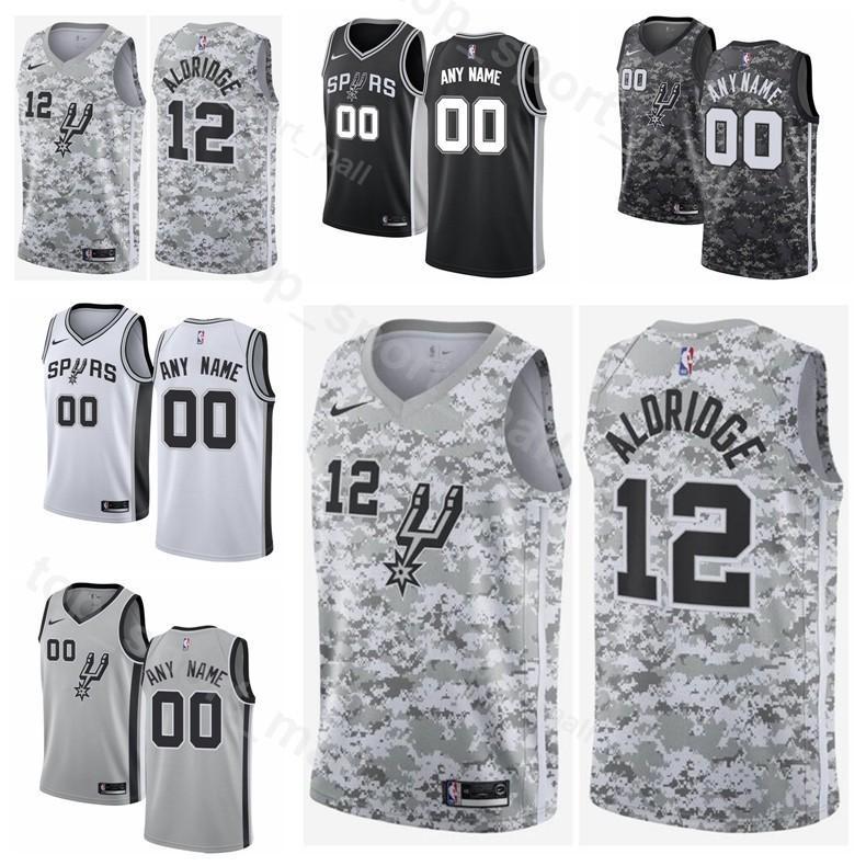 676ab3769dd 2019 Printed Men Youth Women Spurs DeMar DeRozan Jersey 10 Basketball  LaMarcus Aldridge 12 Marco Belinelli 18 Rudy Gay 22 Pau Gasol Custom Name  From ...