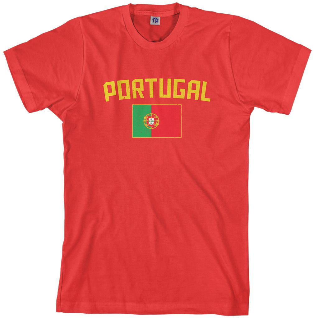 46ef571f Details Zu Threadrock Men'S Portugal Flag T Shirt Portuguese Lisbon Soccer  Funny Unisex Casual Gift Designer White Tee Shirts Cool T Shirts Buy Online  From ...