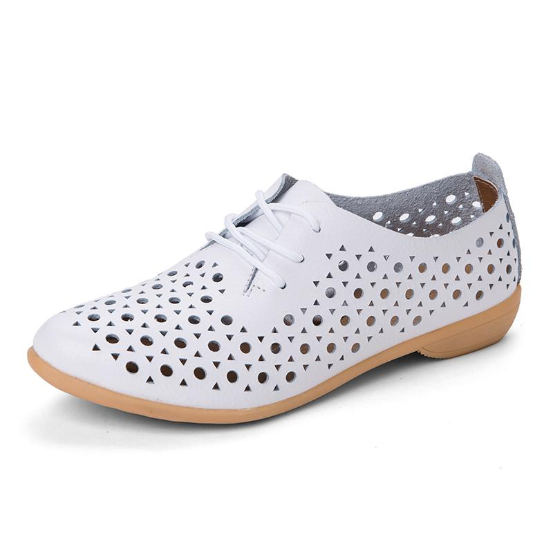 bc03120c18 Designer Dress Shoes Leather Woman Shoe With Laser Punching Holes 2019 S/A  Wholesale Fashion Lady ladies girl lace up