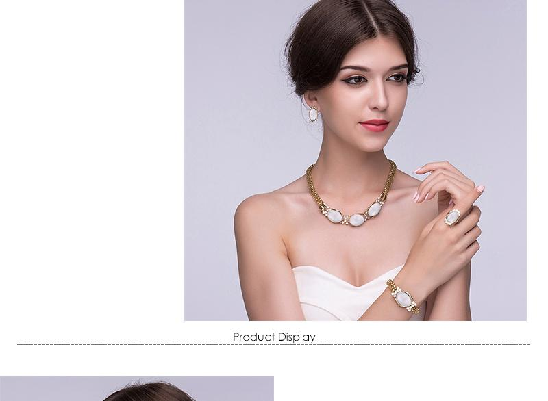 CWEEL Set di gioielli donna alla moda Set di gioielli di perle africane Catena Dubai Gioielli etnici da sposa turchi etiopi