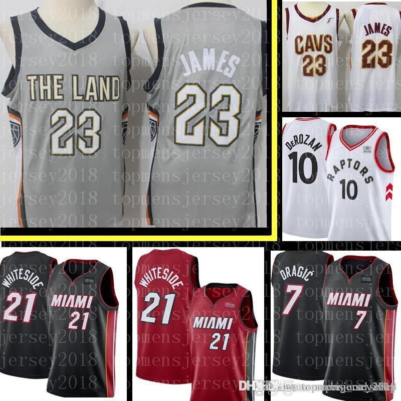 save off 1c127 d99d6 9.9 $ sales Cavaliers LeBron 23 James Jersey Mens Demar 10 DeRozan Toronto  Mens Raptors Basketball Jerseys S-XXL