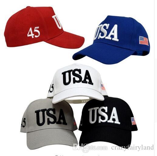 6158e1f008c1b Compre Trump Fashion USA Sombreros Con Letras Mujer Gorras Marca Bandera  Gorras EE. UU. Gorra De Béisbol Hombres Deportes Al Aire Libre es EE. UU.  Regalos ...