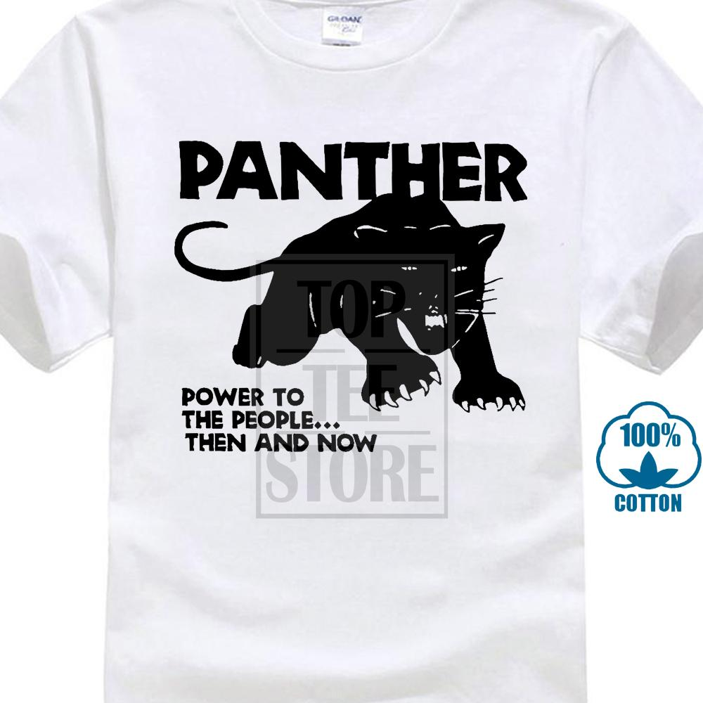 Black Panther Party T Shirt 100% Cotton Malcolm X Hip Hop S To 4xl Summer Blacks Cotton Tshirt