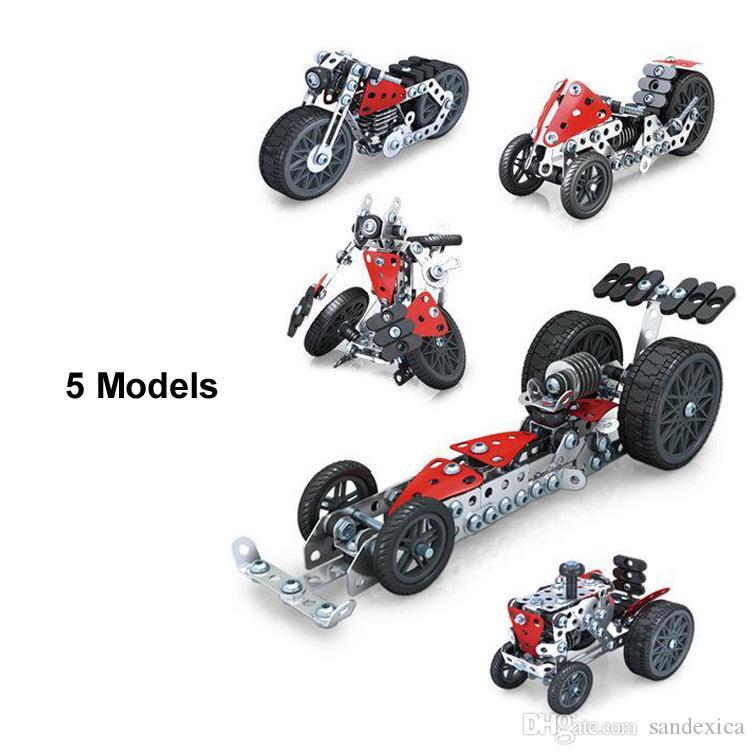 Set Robot Roues Gratuite Puzzle Modèle 3d Livraison Racing 1 Assemblé Pcs Voiture Moto Farmer En Bricolage Jouet Trois 203 5 Métal 3Tc5FKJul1