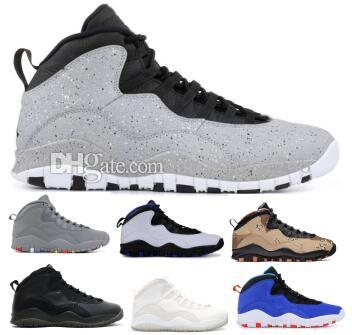 6f917a15 Cement 10 10s Basketball Shoes Sneakers Men 2019 Tinker Orlando Class Of  2006 Chicago Steel Stealth X Green Man Zapatos Baskets Ball Shoes Designer  Shoes ...