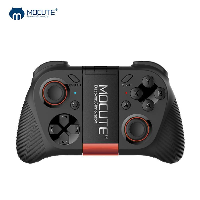 VR Game Pad Android Joystick Bluetooth Controller Selfie Remote Control Shutter Gamepad for PC Smart Phone + Holder