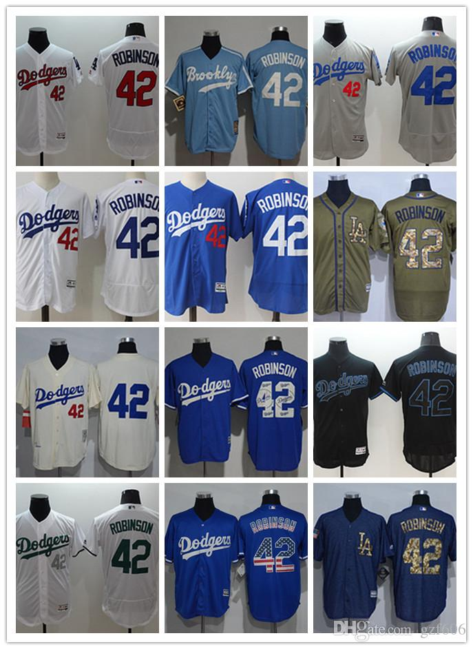 2019 Custom Men S Women Youth Los Angeles Dodgers Jersey  42 Jackie Robinson  Blue Grey White Baseball Jerseys From Gzf606 cb5003fe848
