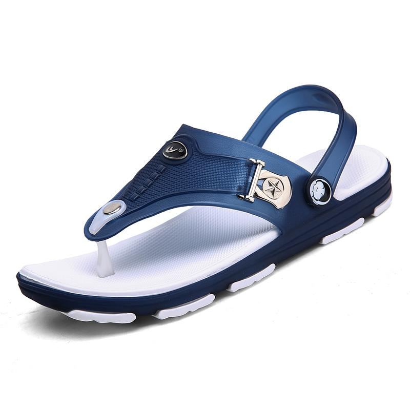 cced8330d Fashion Wear Sandals Men S Slippers Summer New Korean Version Of The Flip  Flops Beach Shoes Sandals And Slippers Slip Shoes Bamboo Shoes High Heels  Shoes ...