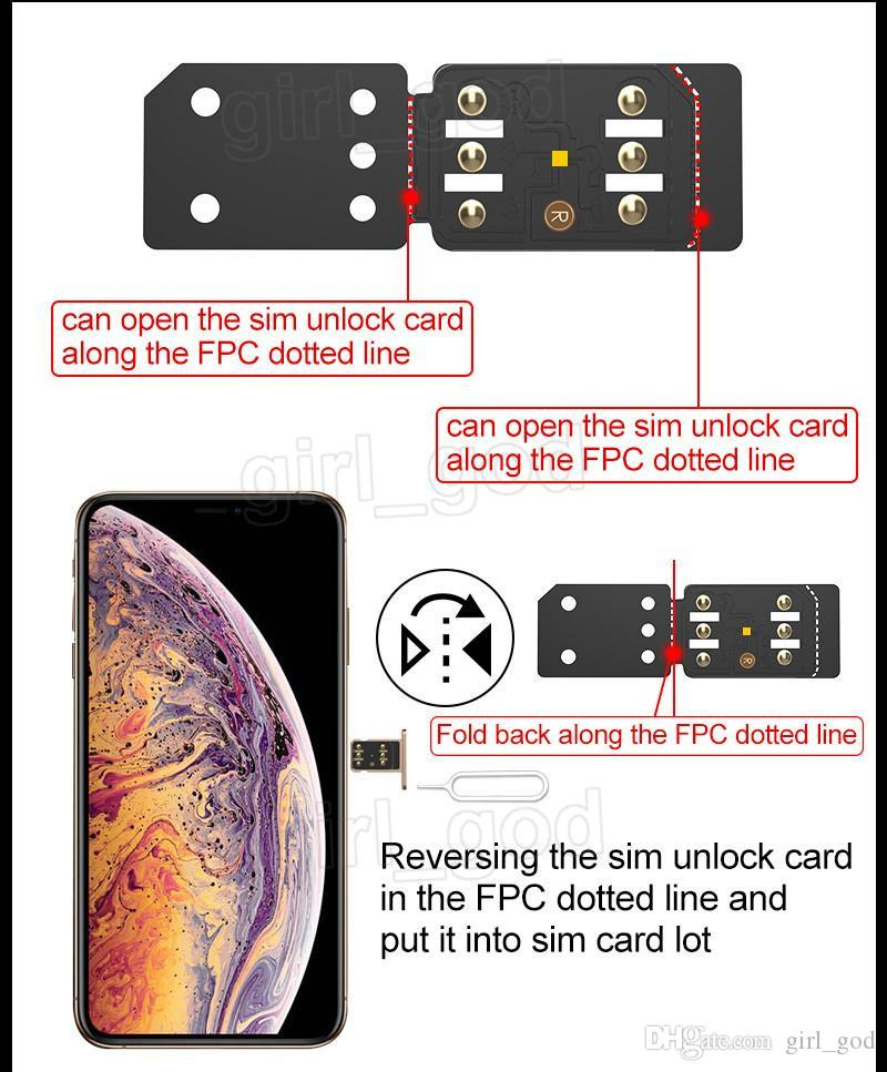 RSIM14 RSim14 R sim14 R SIM 14 RSIM 14 R-Sim 14 unlocking card for iPhone xmax 8 7 plus 6 unlocked iOS 12.x-7.x 4G unlock
