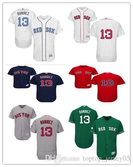 365a1746f 2019 2018 Can Boston Red Sox Jerseys #13 Hanley Ramirez Jerseys Men#WOMEN# YOUTH#Men'S Baseball Jersey Majestic Stitched Professional Sportswear From  ...