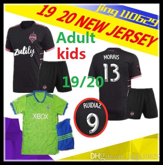on sale aca20 7b0dc Seattle Sounders LODEIRO 2019 2020 Seattle Sounders FC KIDS AWAY Soccer  Jersey 19 20 MLS RUIDIAZ MORRIS LODEIRO MARSHALL Football Shirt