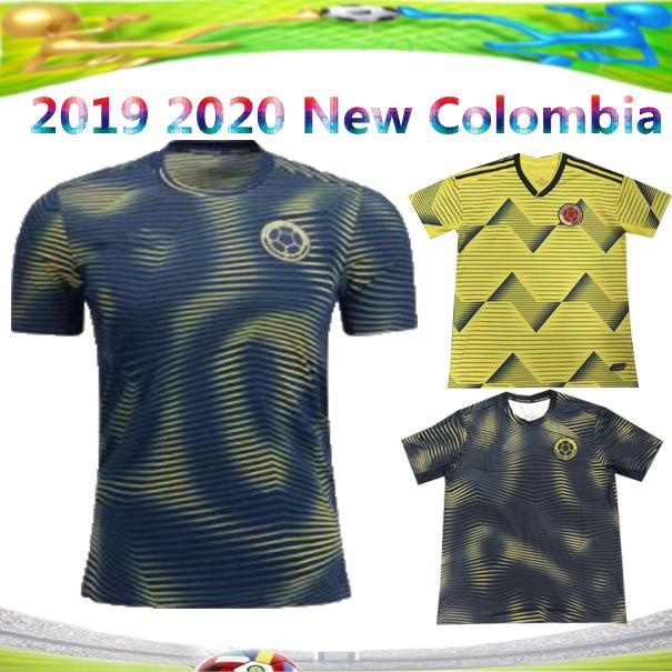 buy popular 1c296 96594 New 2019 Colombia Soccer Jerseys Copa America Columbia JAMES Rodriguez  Camiseta de futbol FALCAO Juan CUADRADO VALDERRAMA Football shirts