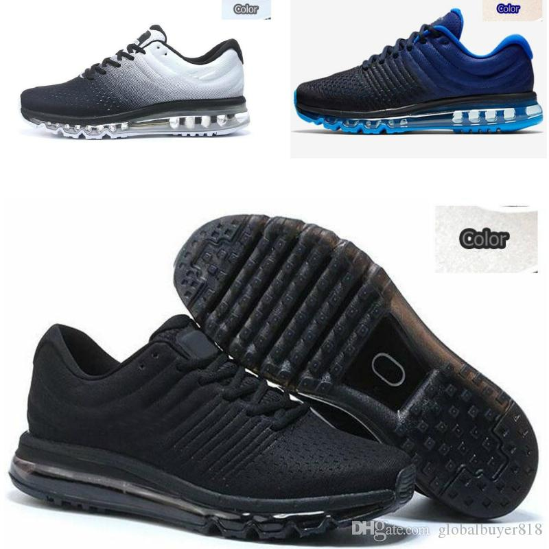 Nike 2017 air max supreme off white shoes Vapormax nike nmd Flair Triple Black Trainer Womens air unique Casual chaussures taille EUR 36 45 A1