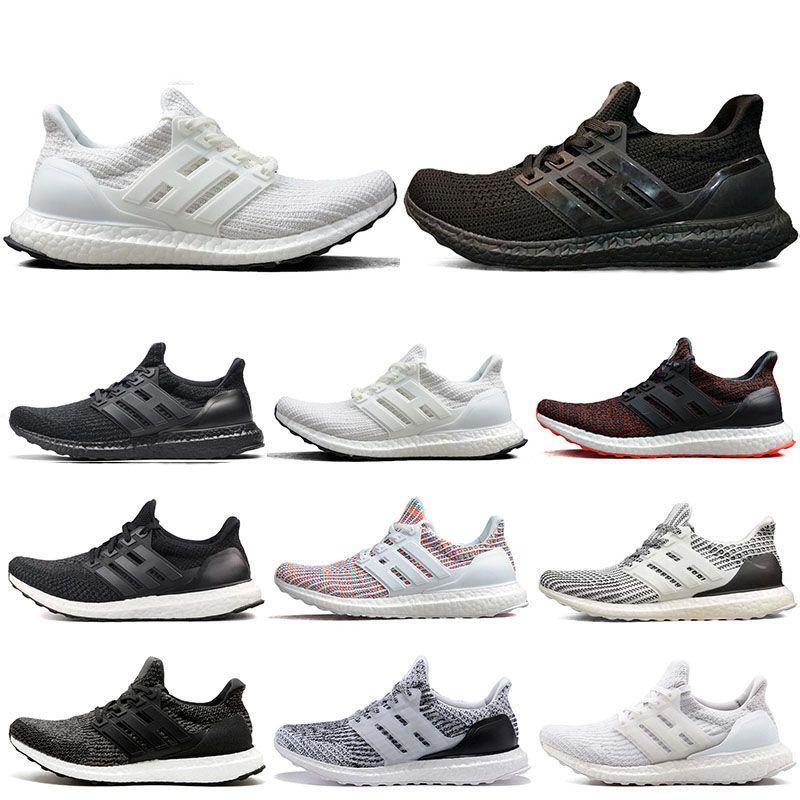 huge discount 4a8b5 24fba Adidas Ultra Boost 3.0 4.0 2019 Barato UB 3.0 4.0 Sneaker Hombre Mujer  Zapatillas Triple Negro Blanco CNY Para Hombre Calzado Deportivo Entrenador  Zapato ...
