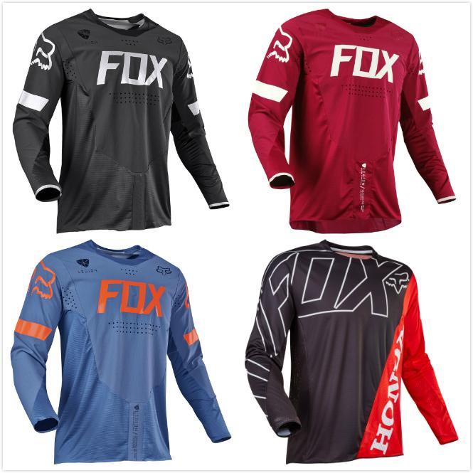 c8c9c61914917 NEUE Moto Jersey Downhill-Mountainbike-T-Shirt Kleidung MTB Racing Langarm  Motocross DH Hemd MX Motorrad Radfahren Kleidung