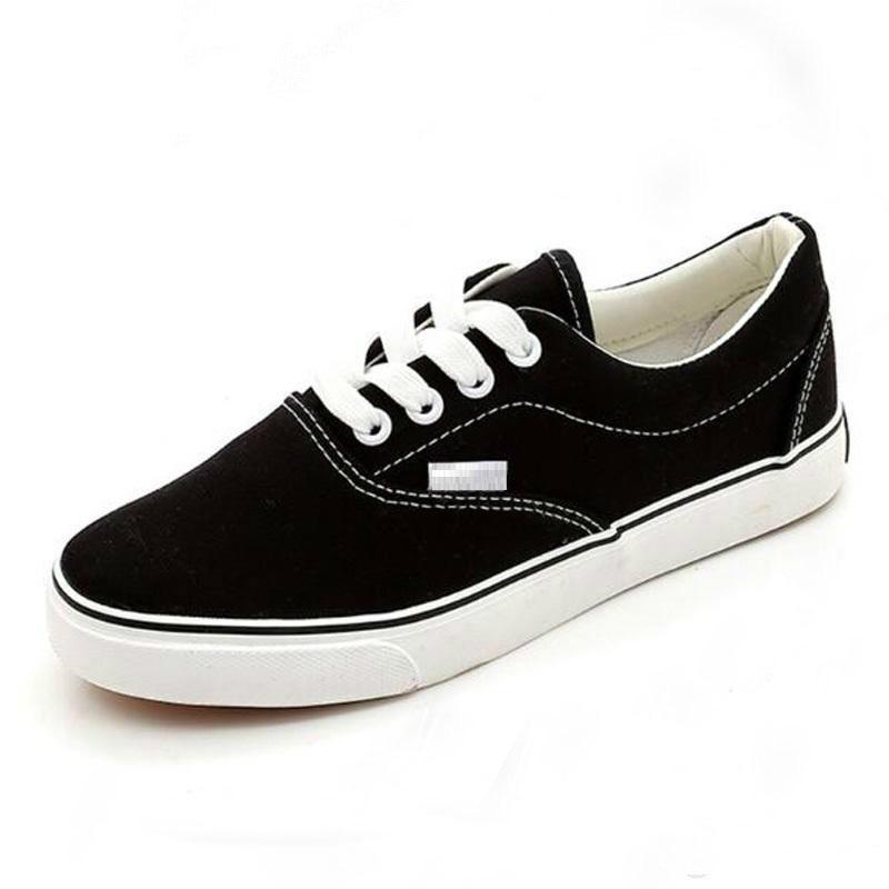Big Size 35 43 High Quality Retail New Sale MenWomen's Canvas Shoes Casual Shoes Flats Solid MenWomen Breathable Shoes