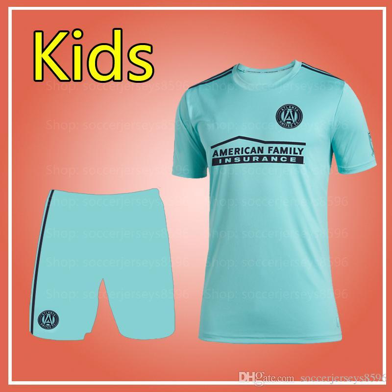 half off 7ab6c a227b MLS Atlanta United kids 2019 Parley kits 2019 2020 Parley MLS Atlanta  United kids soccer jersey sets 19 20 MLS Parley youth uniform