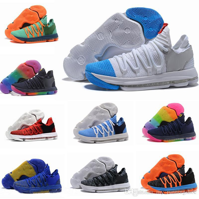 59dd939ca470 2019 New KD 11 EP Elite Basketball Shoes KD 11s Men Multicolor Peach Jam Mens  Foam Doernbecher Trainers Kevin Durant 10 EYBL Basketball Shoes From ...