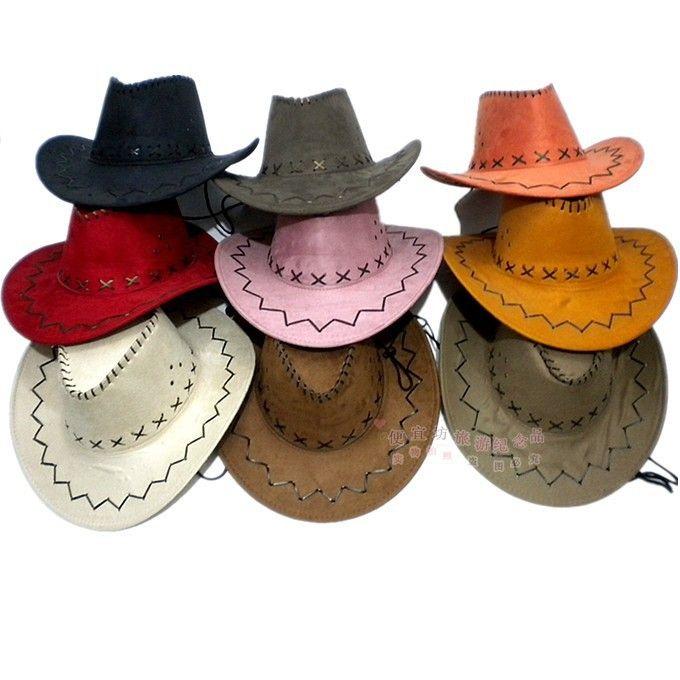 4deffa5eb 1pcs Free shipping fashion Western cowboy hat general cowboy hat