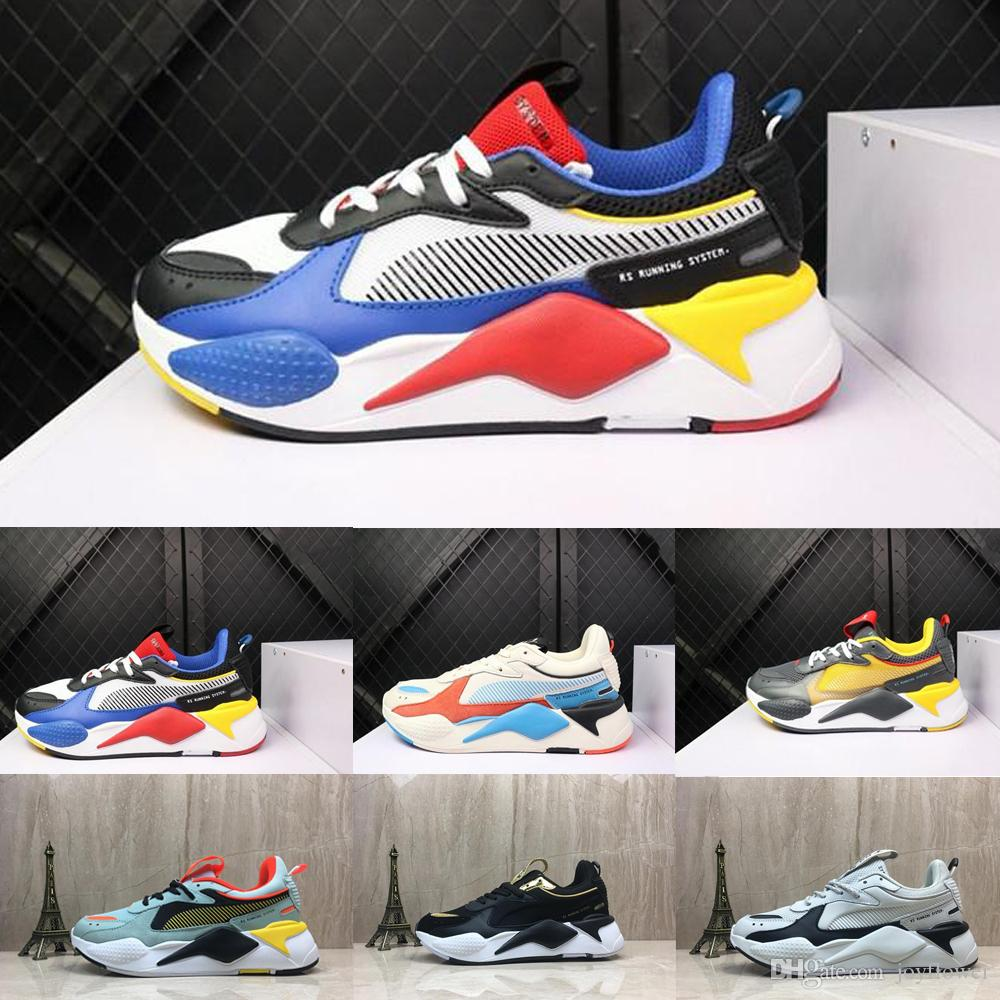 Puma rs Pumas Rs x Uomo Donna RS X Reinvention Running System Bianco Nero Blu Rosso Giallo Scarpe Athletic Fashion Sneakers Jogging Scarpe sportive
