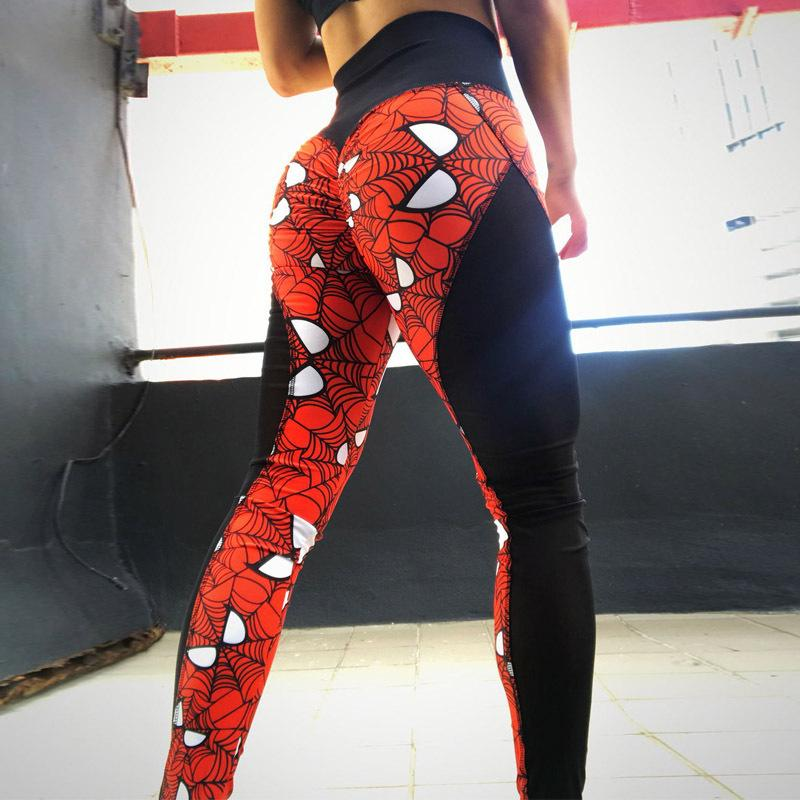 0fa2059cf4e3b6 2019 New Super Hero Print Women Push Up Sexy Mesh Patchwork High Waist Fitness  Leggings Breathable Dry Quick Pants Q190424 From Tai01, $20.43 | DHgate.Com